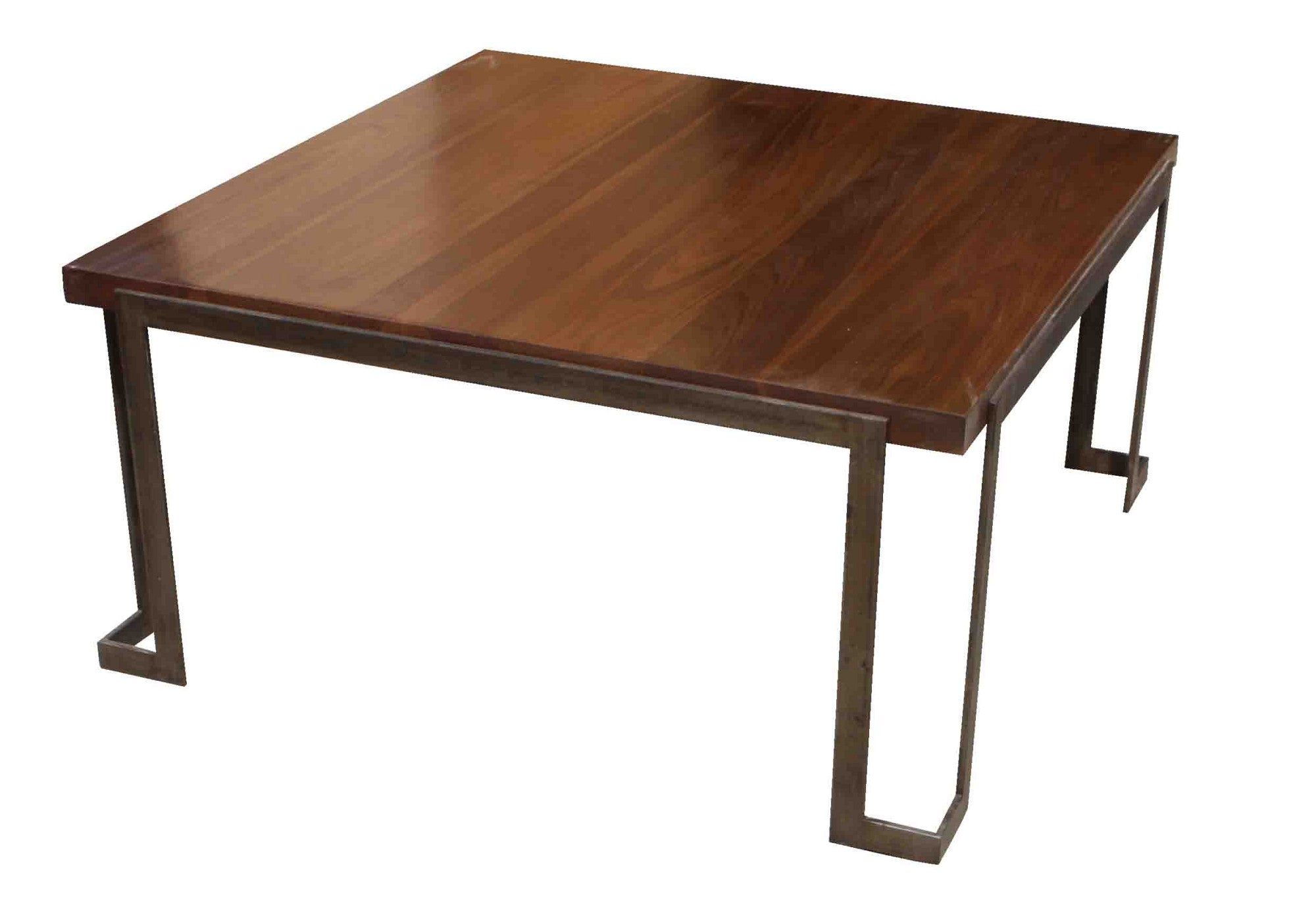 modern metal and wood coffee table u2013 mortise u0026 tenon