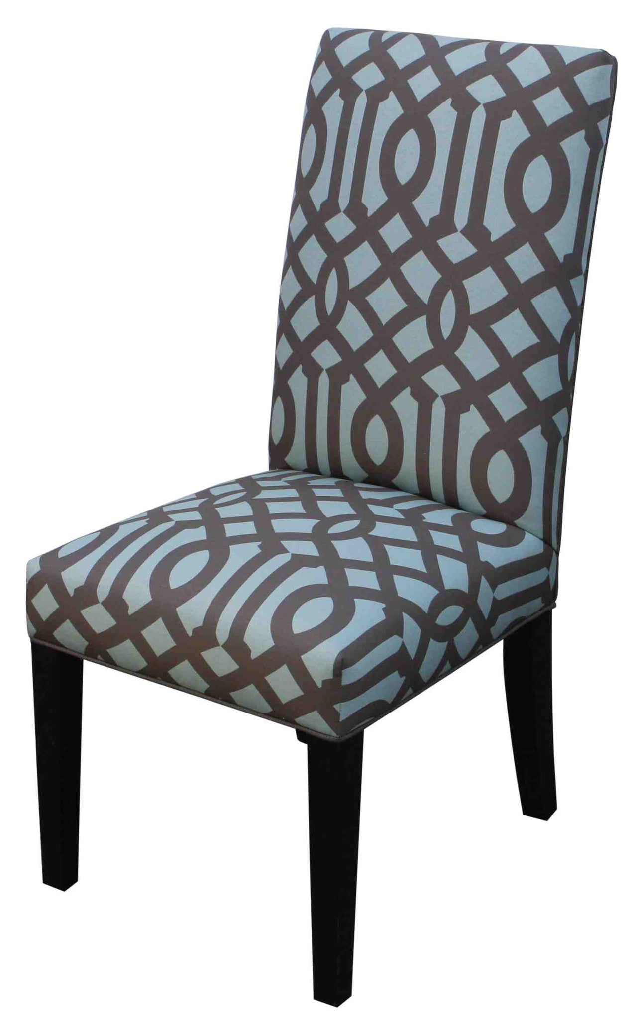 ... Dining Room Chairs Los Angeles Stanford Upholstered Tapered Leg Side  Chair U2013 Mortise U0026 Tenon ...