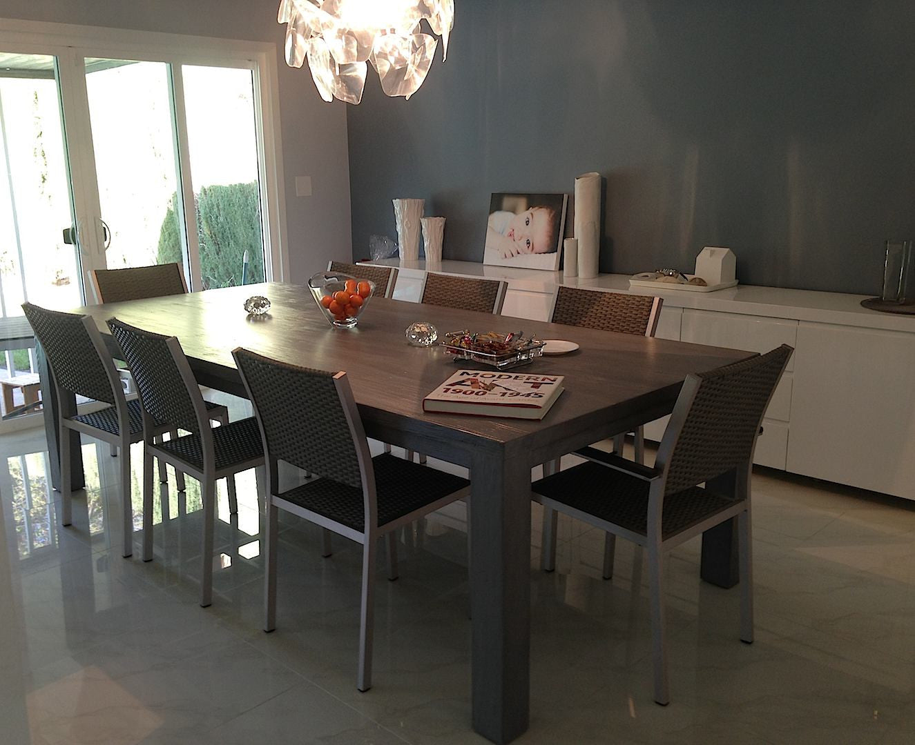 Urban Modern Dining Room- Roca Dining Table