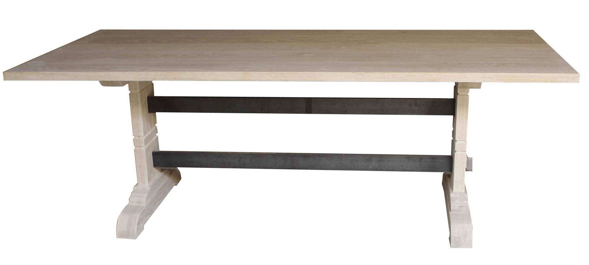 Montreal Modern Trestle Dining Table