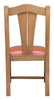 Oak Wood Mission Dining Chair
