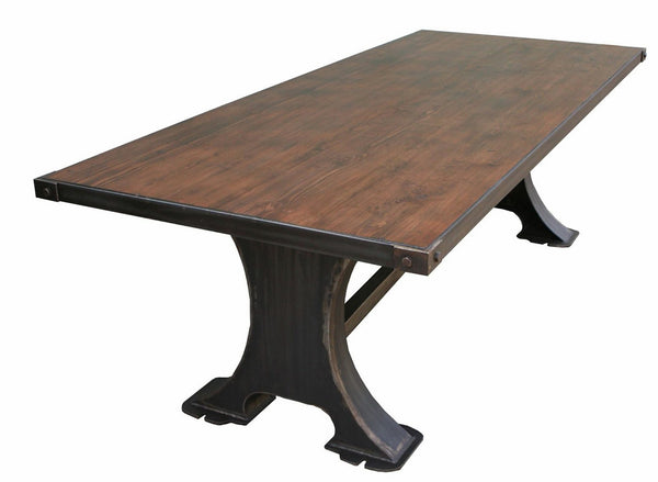 Urban Industrial Dining Table Mortise Amp Tenon