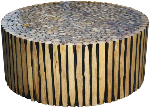 Tronc D'Arbre Round Coffee Table