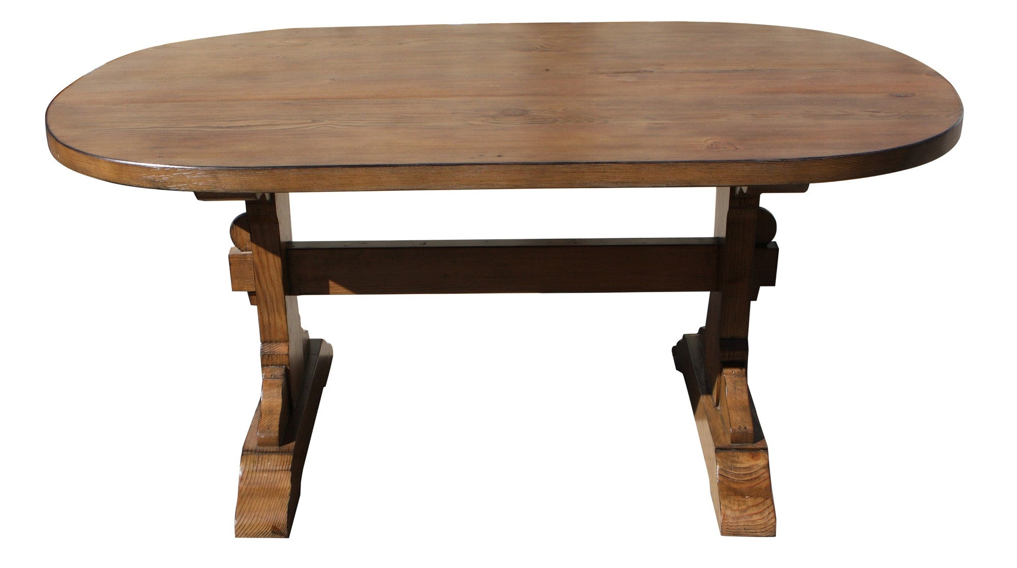 Custom Oval Dining Table