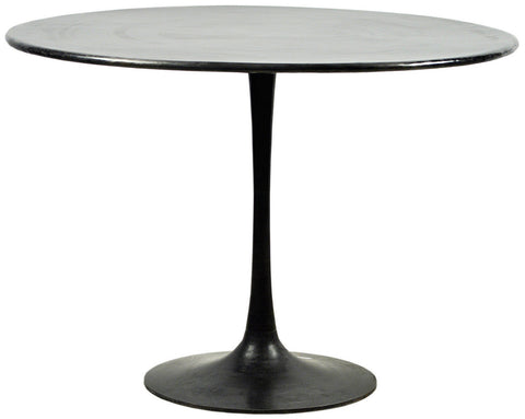 Modern Small Round Industrial Dining Table