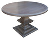 Algonquin Round Pedestal  Dining Table in Reclaimed Wood