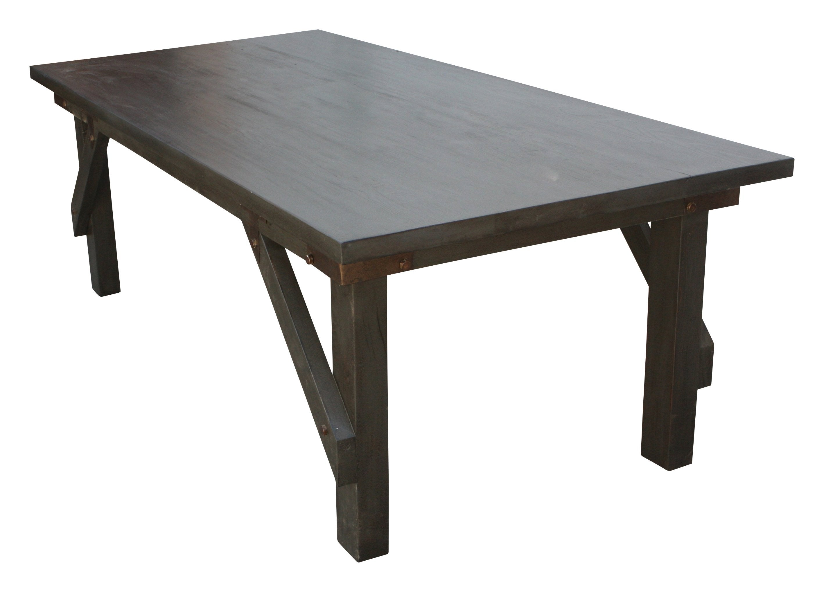 Industrial Work Bench Dining Table In Salvaged Wood Perfect For - Reclaimed wood work table