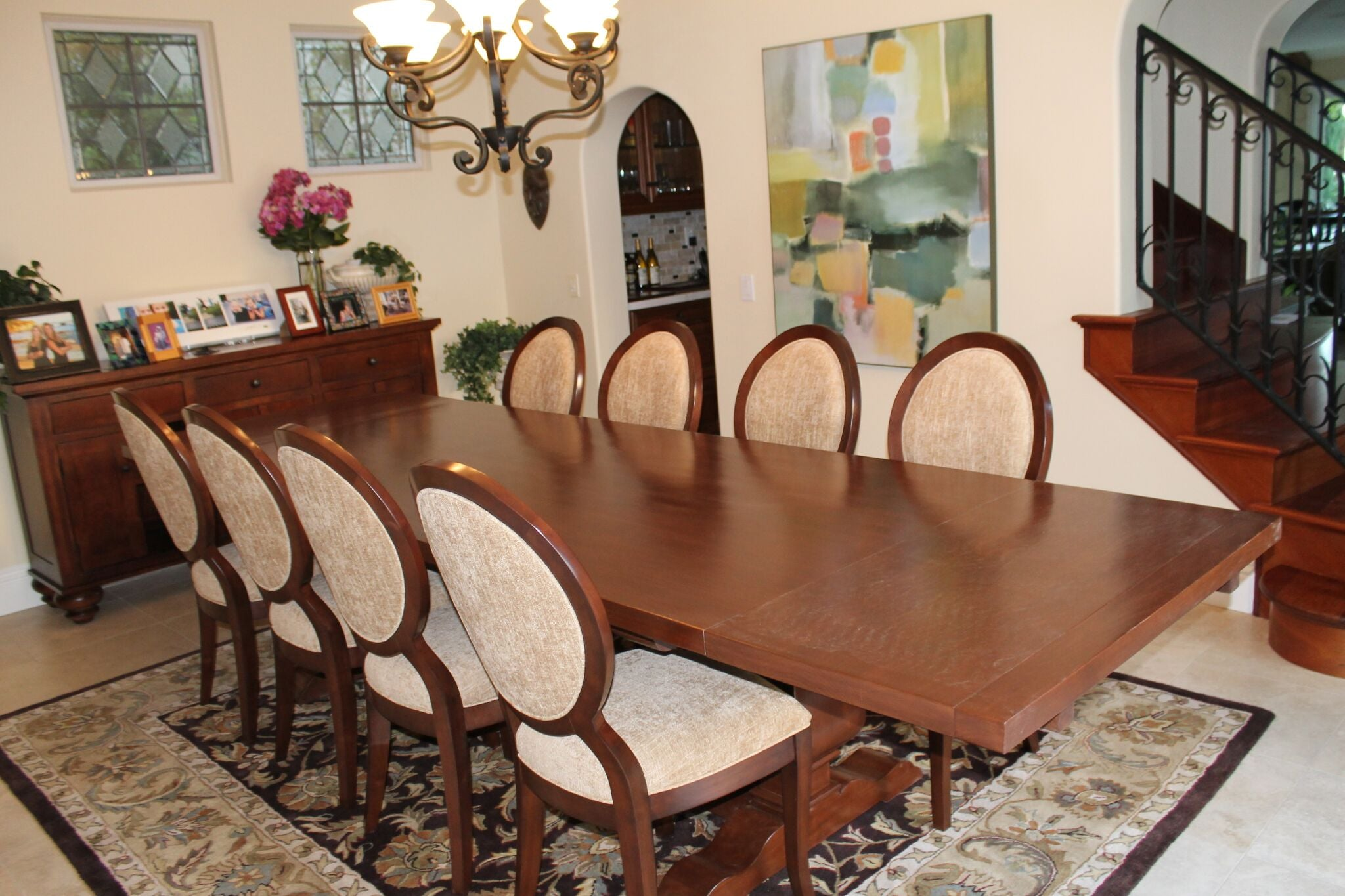 Segovia Dining Table and Chairs