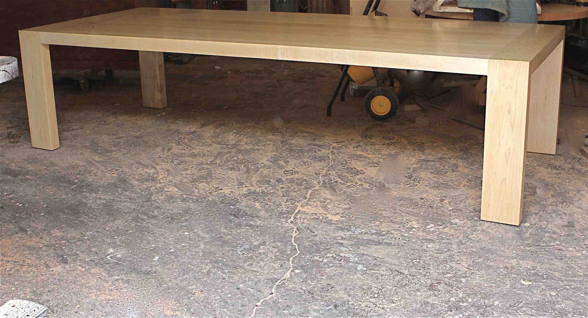 Very Big Custom Reclaimed Wood Dining Tables – Mortise & Tenon