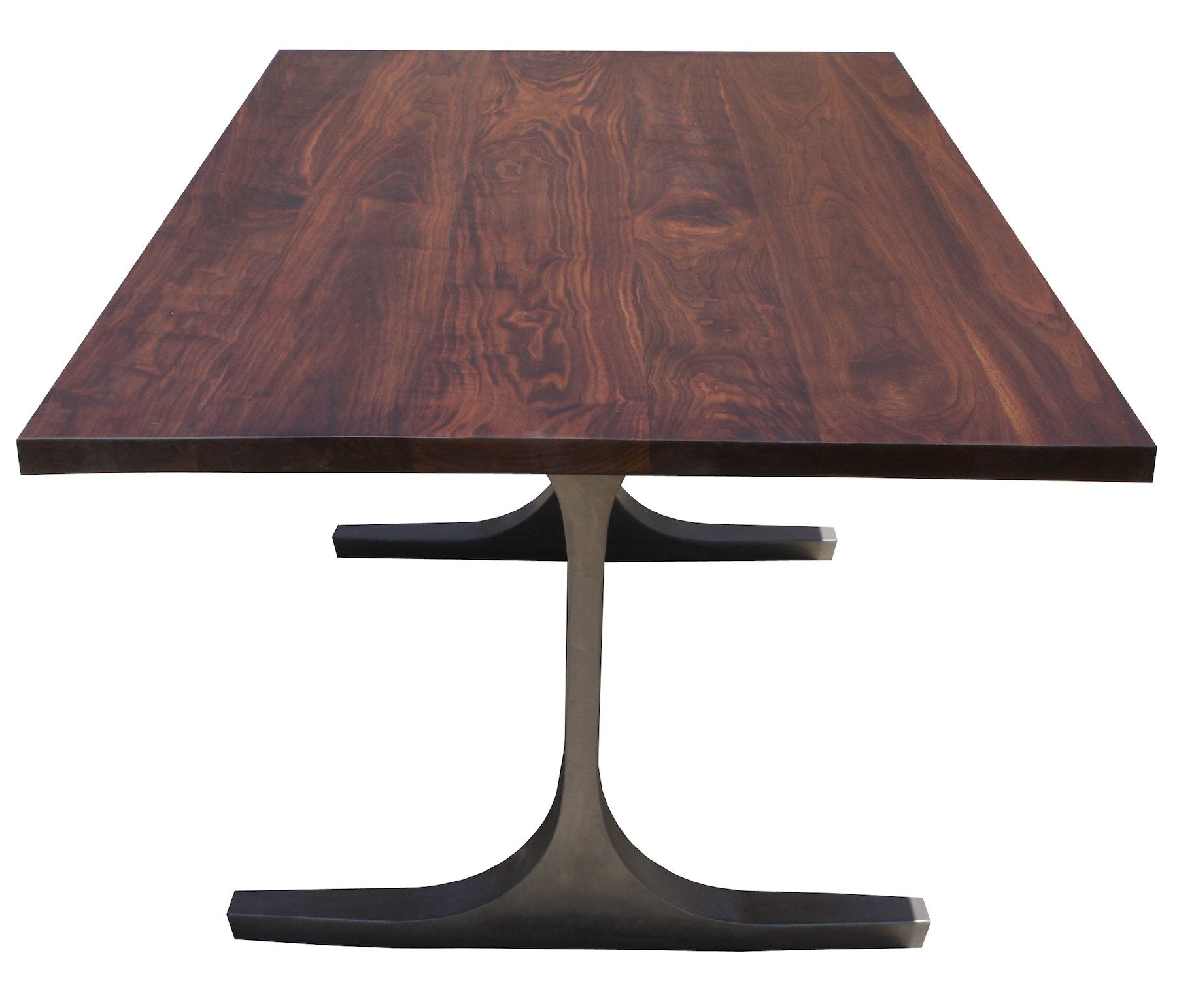 Attirant ... Bergen Dining Table Witha Solid Walnut Top ...