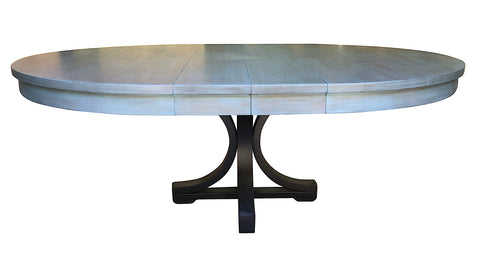 Boston Round Extension Dining Table