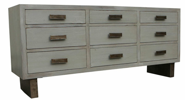 kitchen cabinets with drawers sundance reclaimed wood nine drawer dresser mortise amp tenon 6468