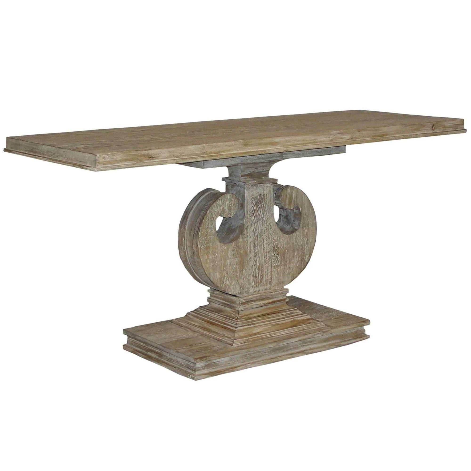 Unique reclaimed wood console table mortise tenon unique reclaimed wood console table hover to zoom geotapseo Choice Image