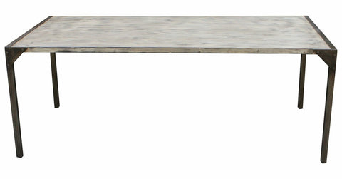 Urban Metal & Reclaimed Wood Dining