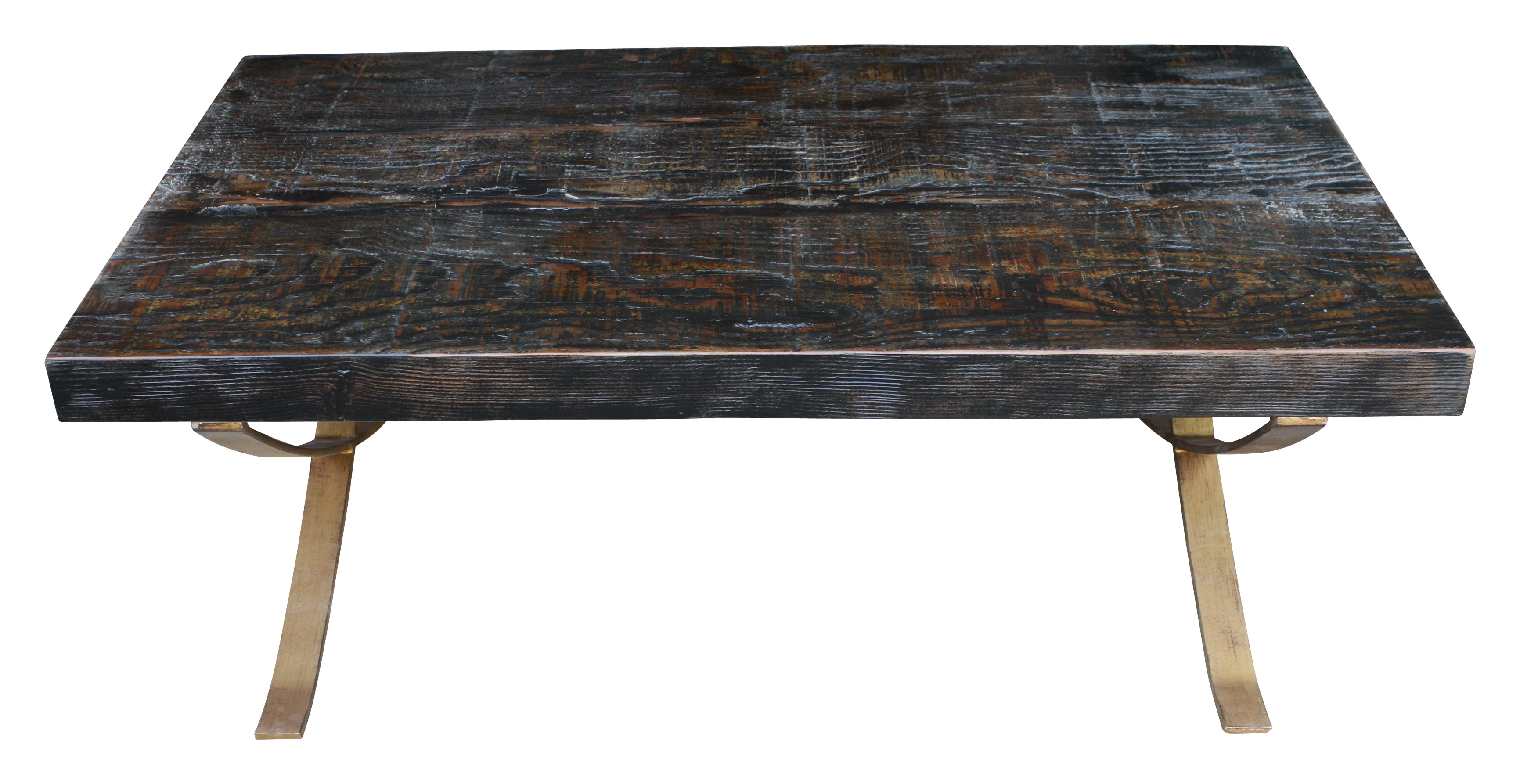 City Reclaimed Wood Coffee Table – Mortise & Tenon