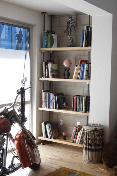 Reclaimed Wood Shelves