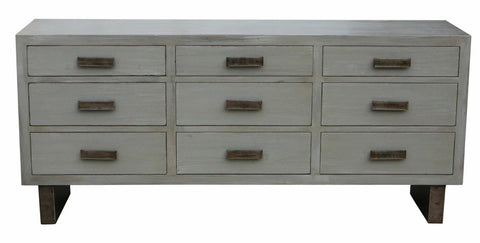 Sundance Reclaimed Wood Nine Drawer Dresser
