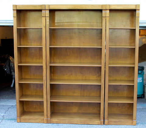 Three Piece Wall Book Case