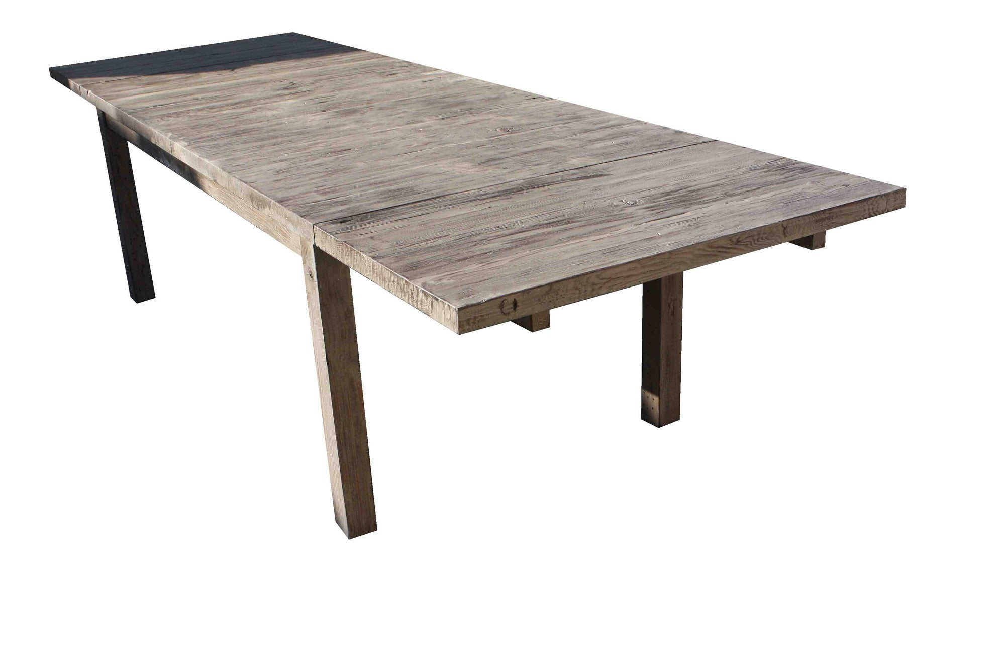 Vineyard Reclaimed Wood Dining Table Mortise Tenon