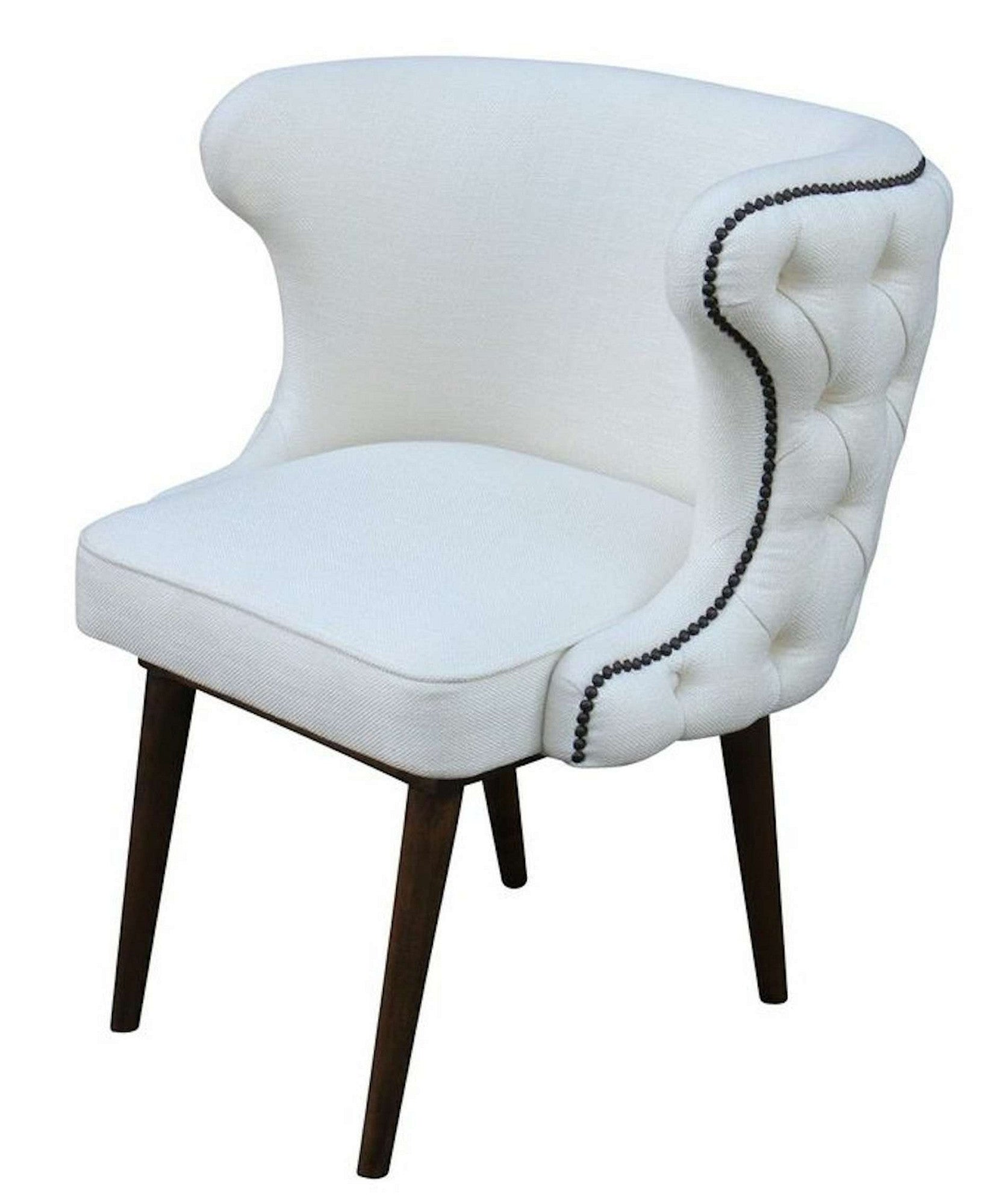 Upholstered Dining Room Chair: Mortise & Tenon
