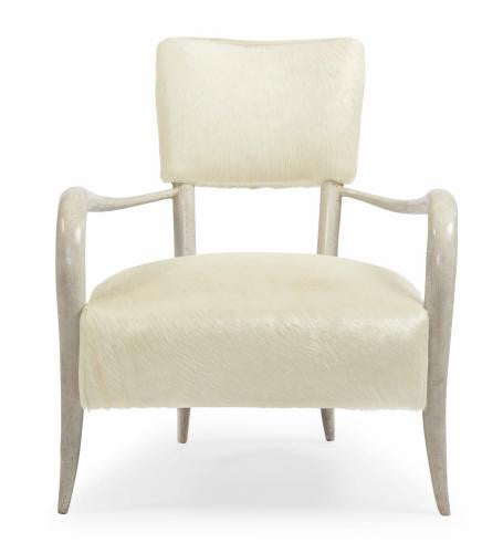 Elka Faux Horn Accent Chair