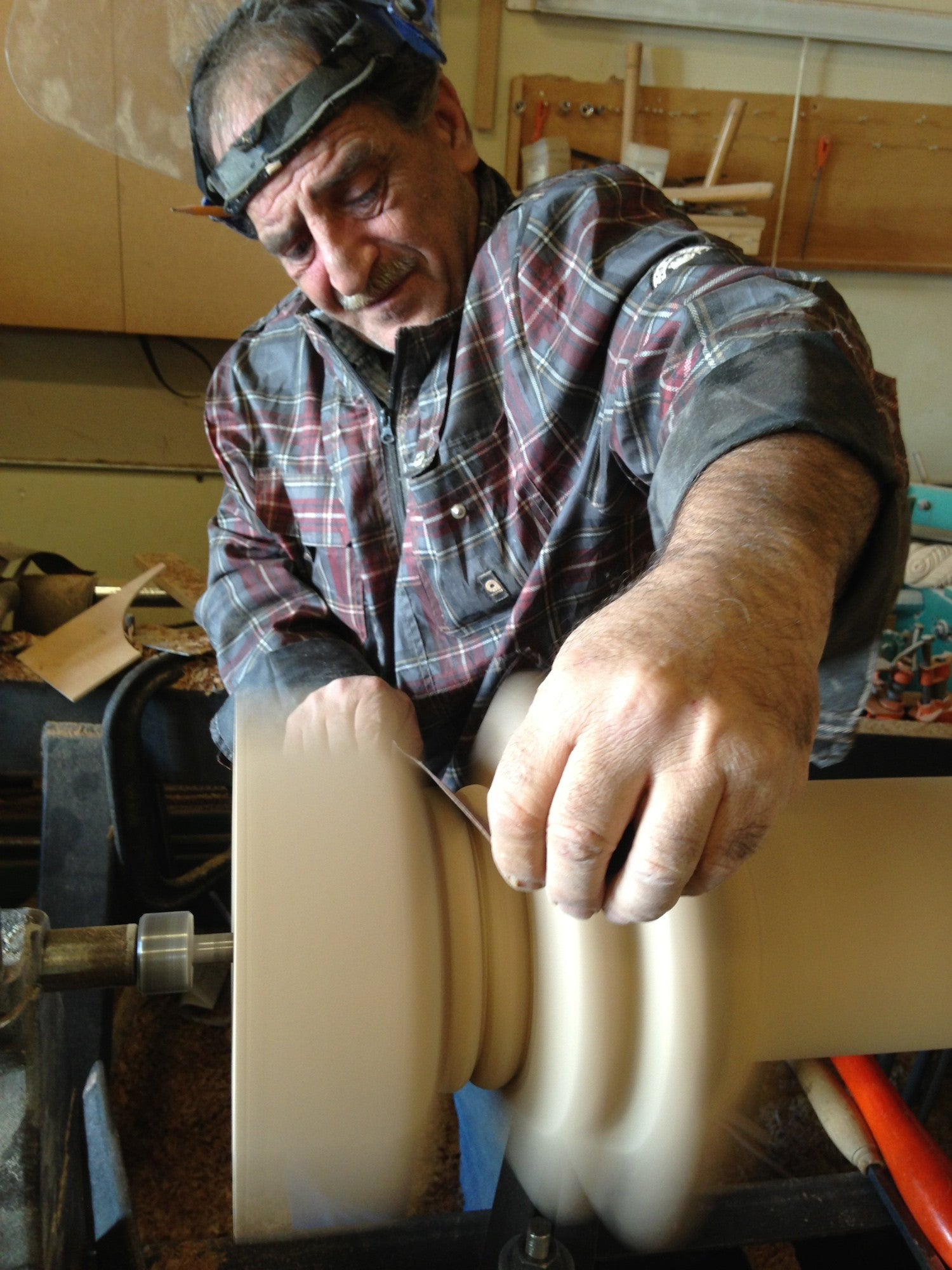 Tony's Wood Turning Making Custom Fluted Legs