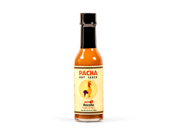 Pacha Hot Sauce - Rocoto 5 Oz. Bottle