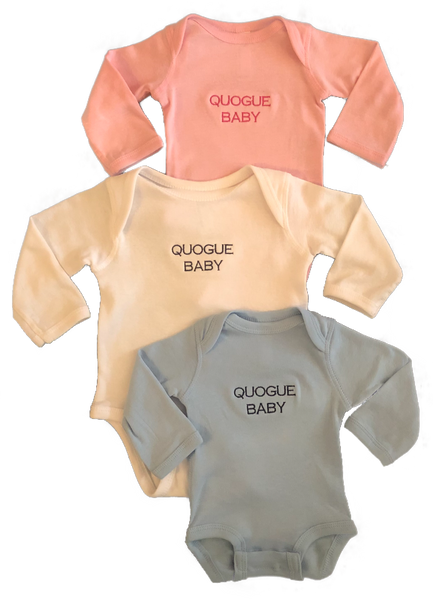Quogue Baby Long-Sleeve Onesie