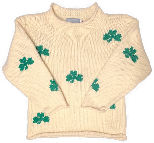 Private Label Youth Shamrock Sweater
