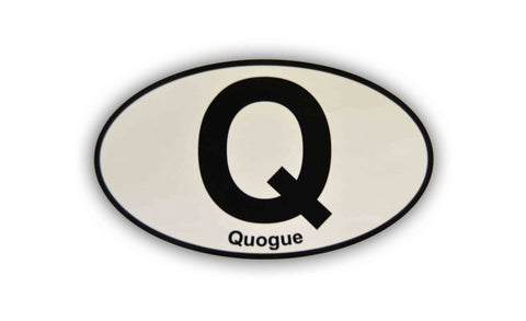 Signature Quogue Sticker