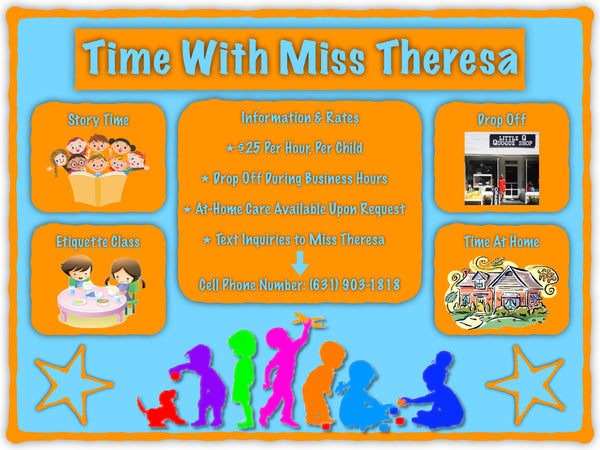 Time With Miss Theresa