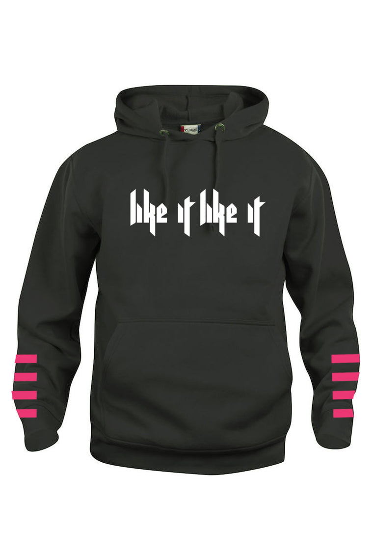 Like It Like It Hoodie - Sort