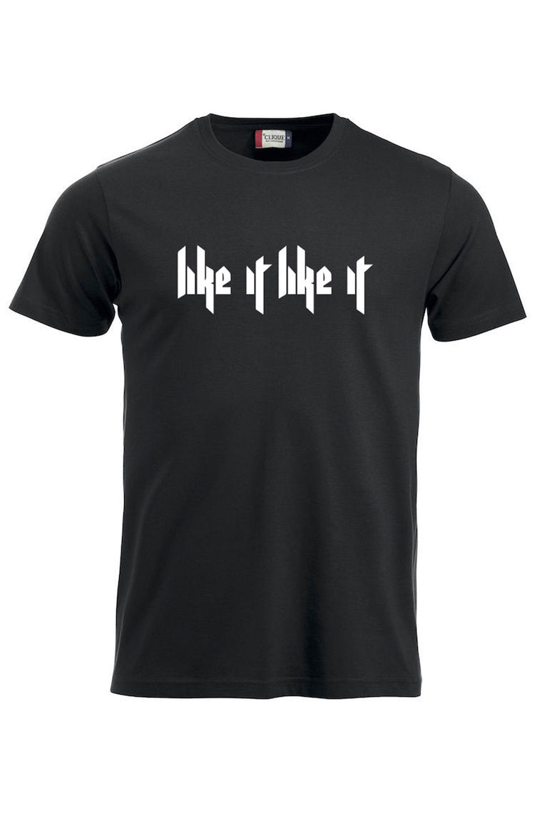 Like It Like It T-shirt - Bilde bak - Sort