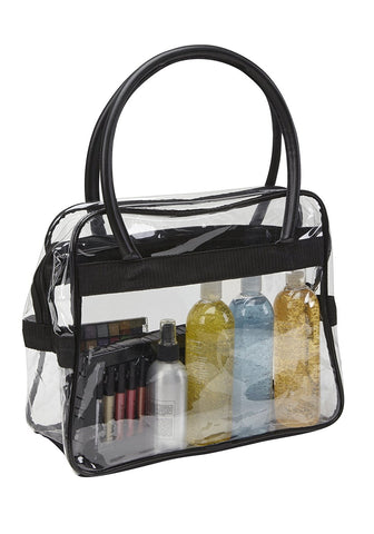 Large Clear PVC Makeup Artist Travel Set Bag