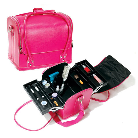 Rolltop Makeup Train Case