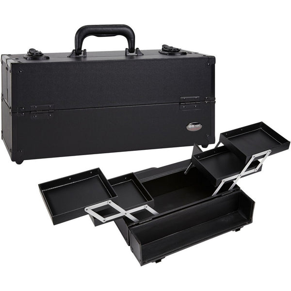 Makeup Artist Heavy Duty Cosmetic Case with 4 Slide Out Trays