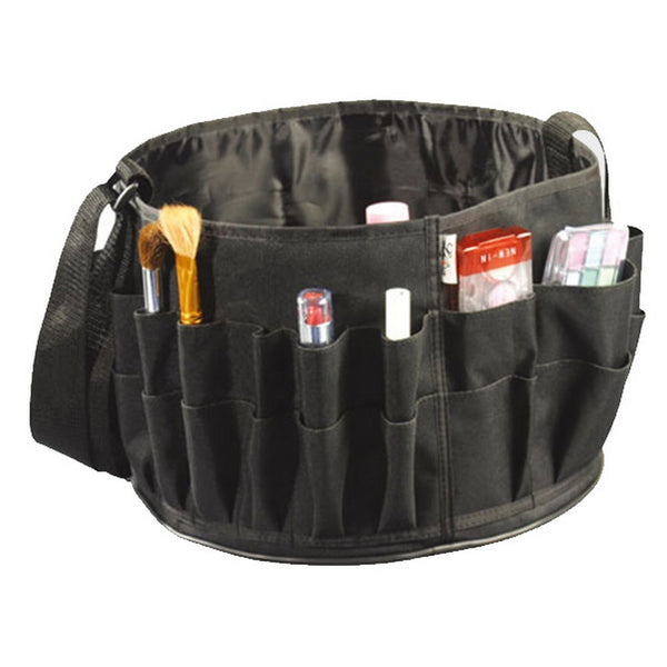 Large Set Makeup Bag – Black Nylon
