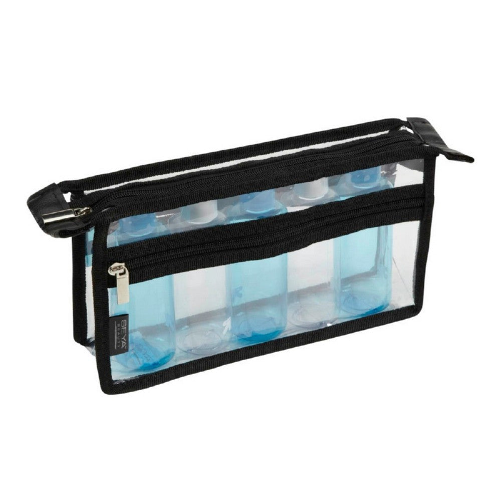 Clear PVC Makeup Bag w/ Zipper Front