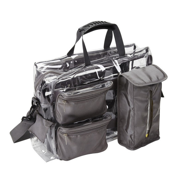 Ultimate Makeup Artist Clear Set Bag with Removable Pouches