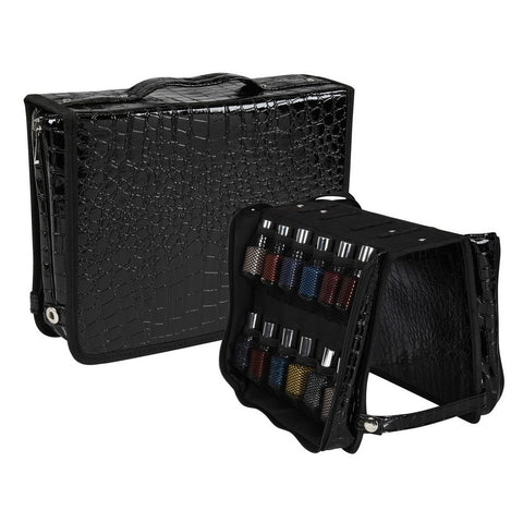 Portable Nail Polish Storage Folder
