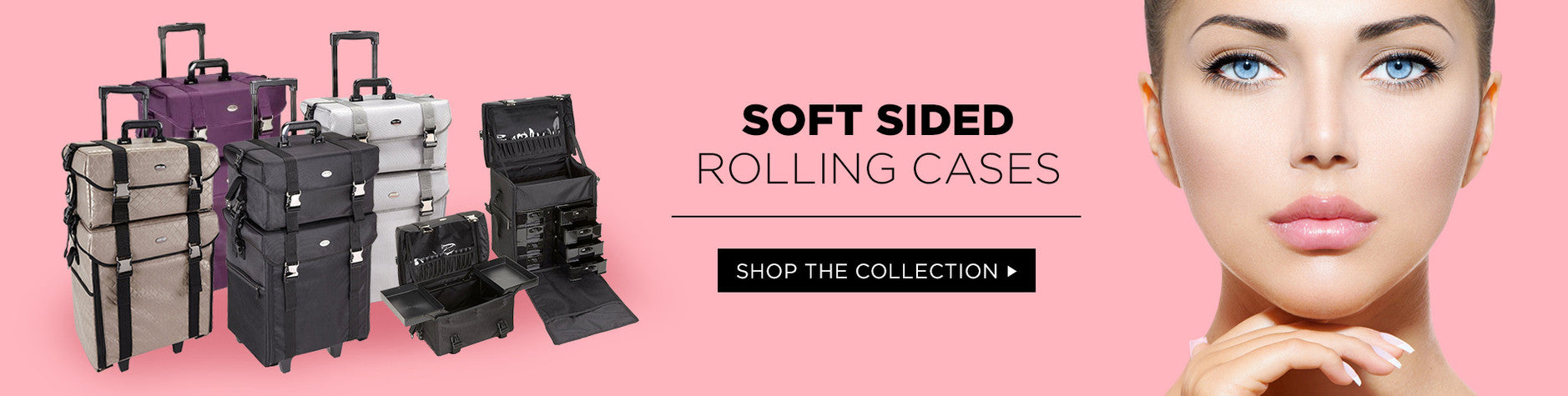 Soft Sided Pro Makeup Cases