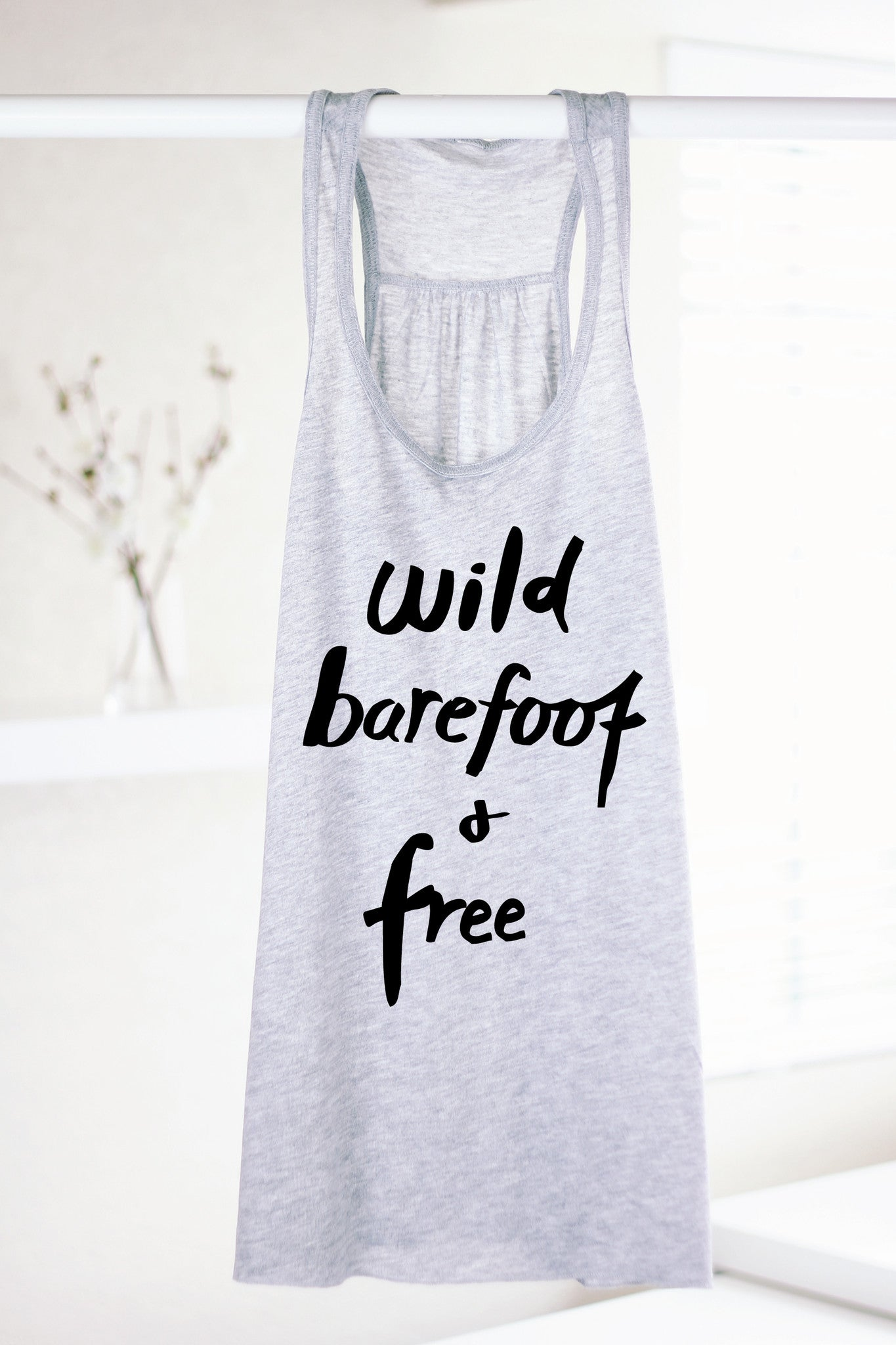 59e0bb7a191fd WILD BAREFOOT AND FREE - FLOWY GRAY - Arima Yoga Wear - Yoga Clothes ...