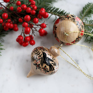 Wooden Ornament | No. 18