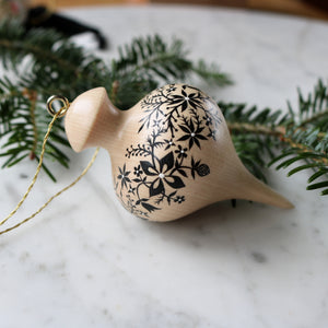 Wooden Ornament | No. 9