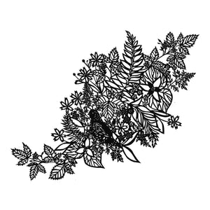 Woodland Floor | Original Papercut