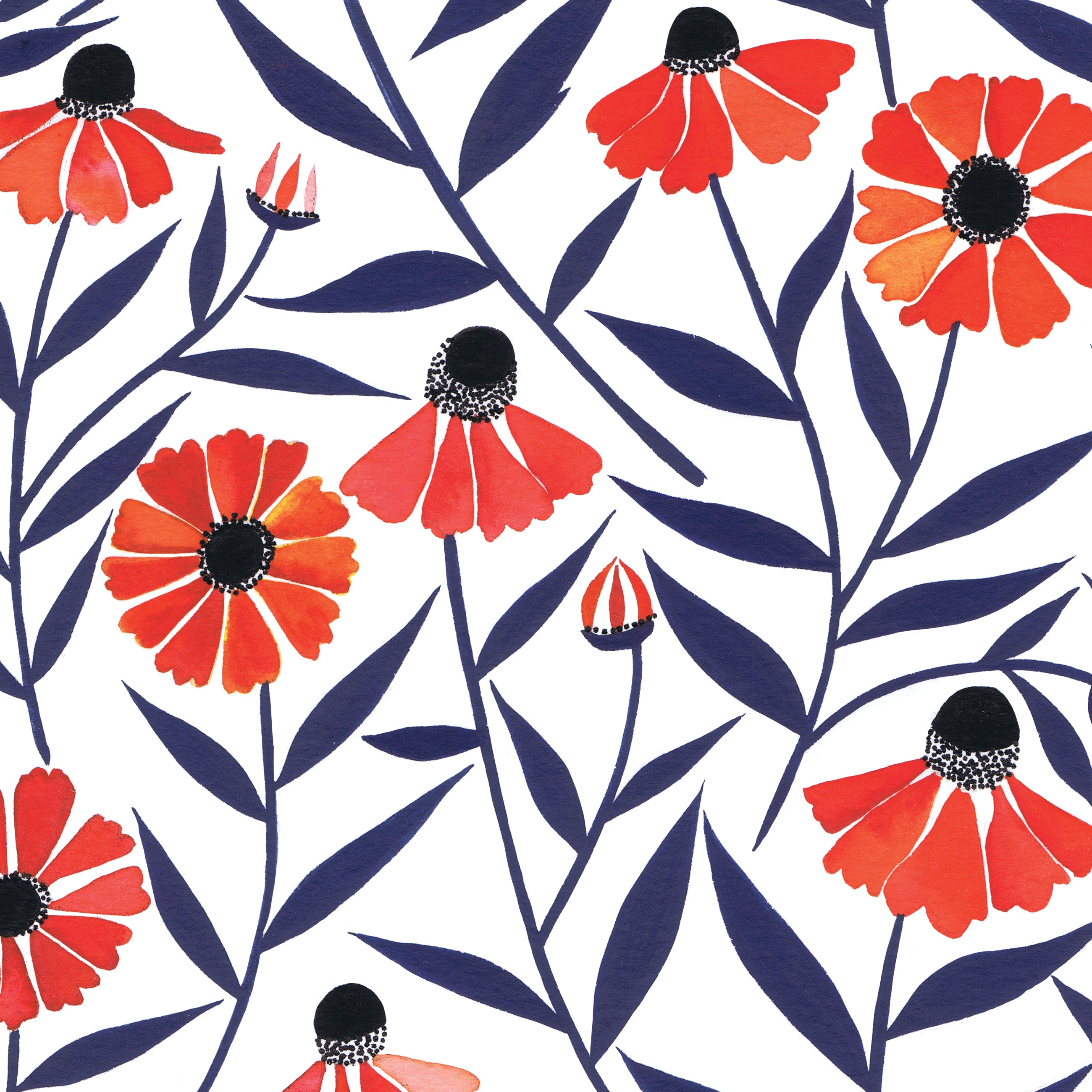 Helenium | Gift Wrap - 3 Sheets