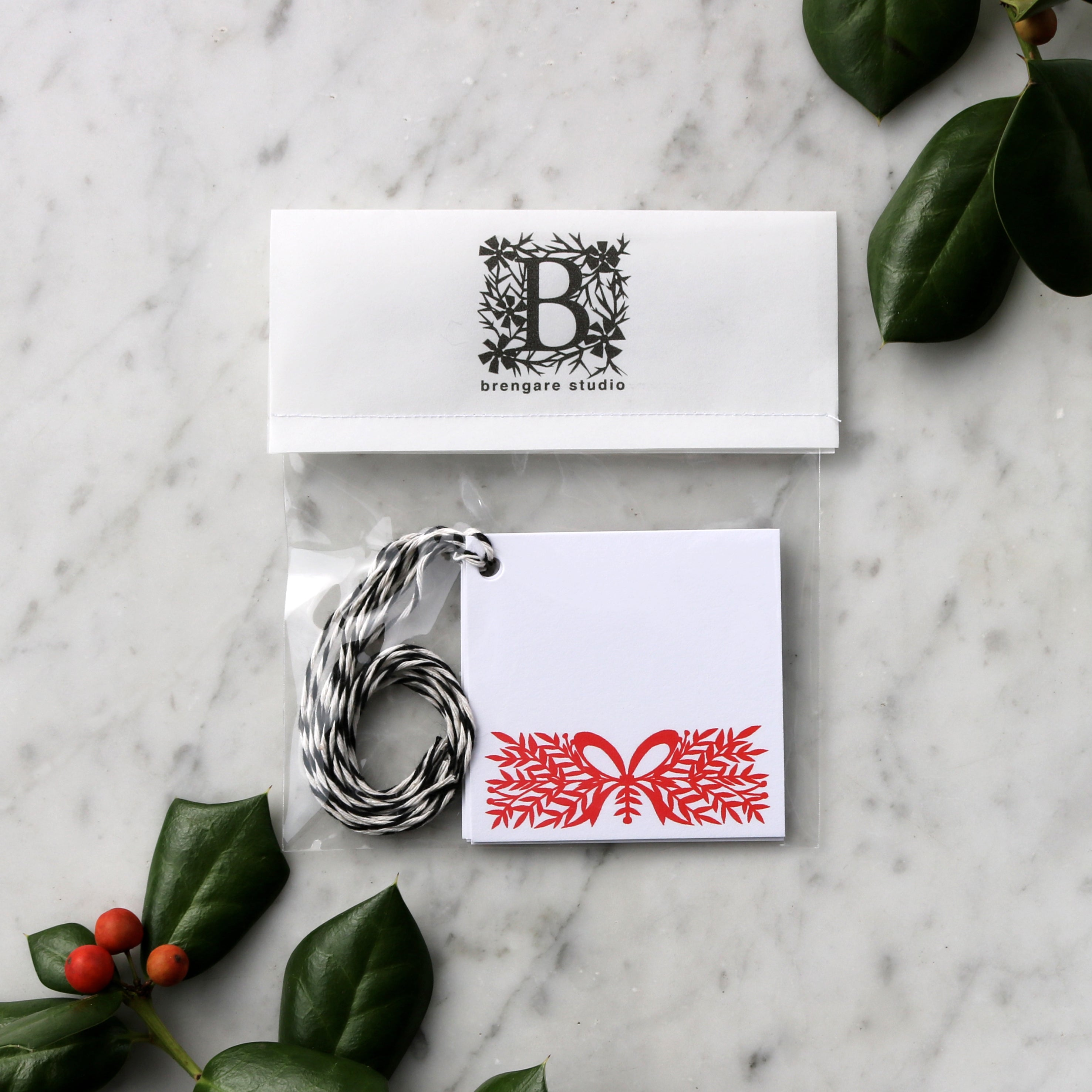 Holiday Garland | Blank Gift Tag Set