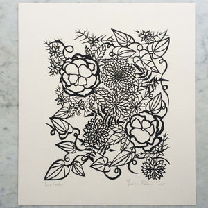 Lace Garden | Original Papercut
