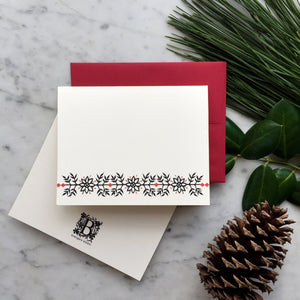 Nordic Border | Blank Greeting Card Set