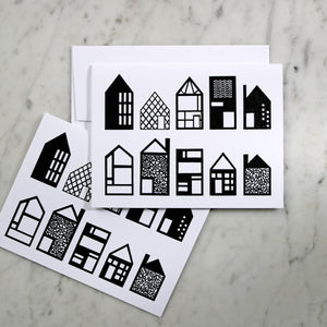 Paper Houses | Greeting Card Set